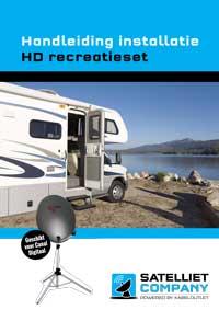 Handleiding installeren HD campingset recreatieset