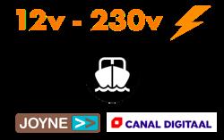 Salora 24 inch LED Travel TV 12v -230v