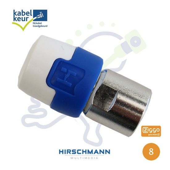 Hirschmann QFC5 Quick Fix F connector HF 4G LTE Proof